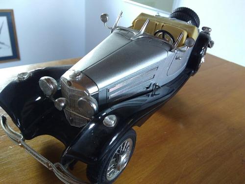 mercedes benz 500 k roadster 1/20 (1936) con detalles.