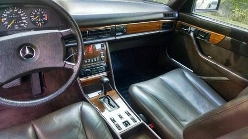 mercedes benz 500 sel 1982