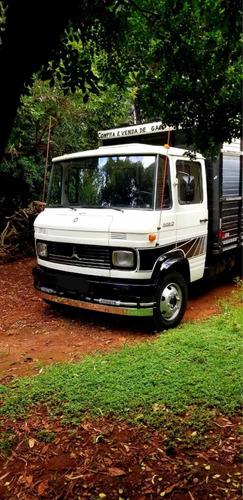 mercedes-benz 608 1979 boiadeiro turbo hidraulico gaiola nov