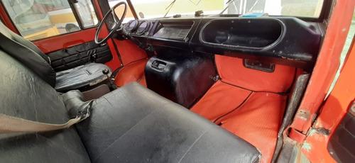 mercedes benz - 608 bau 84 / aceito troca