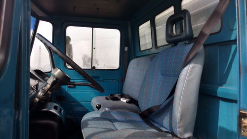 mercedes benz 608 d 1981  baú freio a ár com estacionario