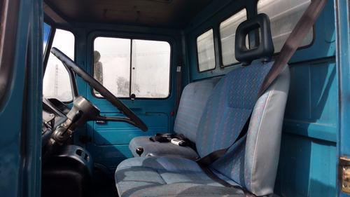 mercedes benz 608 d 1981  baú freio - impecavel