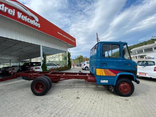 mercedes-benz 608 d no chassi 1984