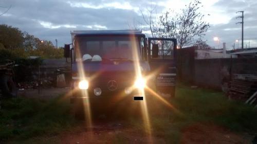 mercedes benz 608 vendo/permuto por camión porta volquete