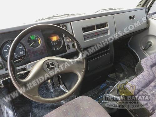 mercedes benz 710 plus turbo intercooler baú frigorífico
