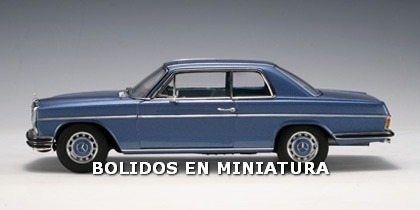 mercedes benz /8 280c coupe - clasico aleman - autoart 1/18