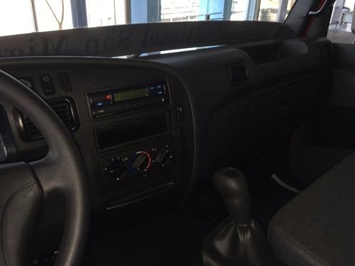 mercedes benz accelo 1016  2017 rojo diesel 0km