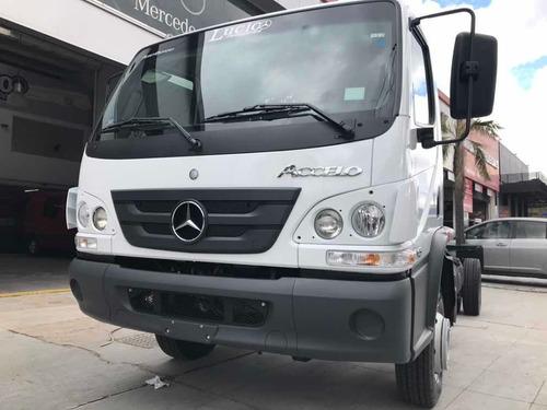mercedes benz accelo 1016 2021 manual entrega en septiembre