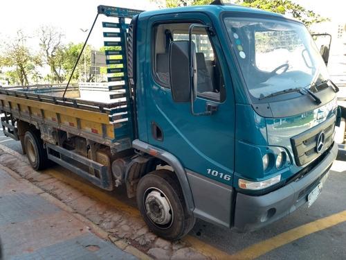 mercedes-benz accelo 1016 3/4 2012 carroceria 5,5m baixo km!