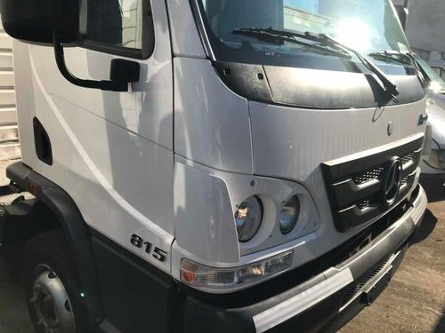 mercedes-benz accelo 815 con caja sider 2016 con 60km unico!