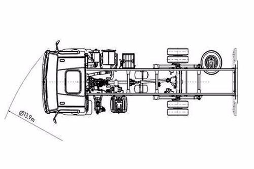 mercedes benz accelo 815 simp. euro v