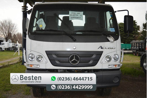 mercedes benz accelo 815/37 camion 0km financiacion
