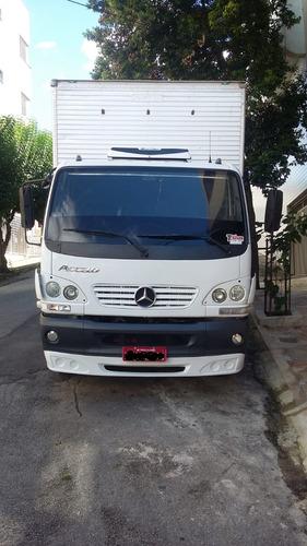 mercedes-benz acello 915c 2010 c/ baú fachini 6,20