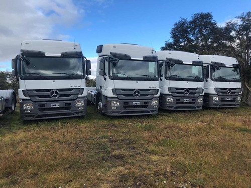 mercedes-benz actros 2041 2011 con 193 mil kms impecable