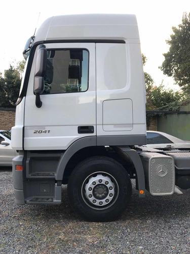 mercedes-benz actros 2041 2012 0 km sin uso . aleman 410 hp