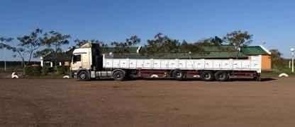 mercedes benz actros 2041 con semi hermann 14,5m