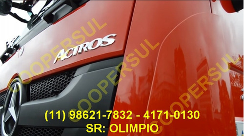 mercedes-benz actros 2651, 6x4, zero km, oportunidade