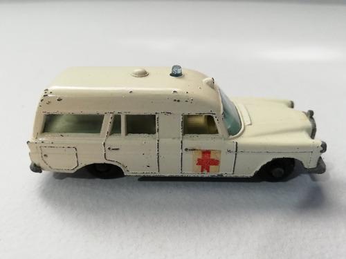 mercedes benz ambulance matchbox series lesney