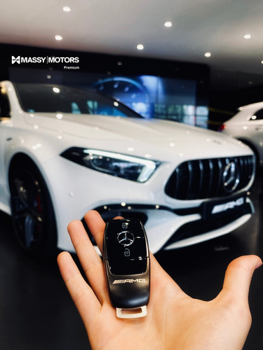 mercedes benz amg a 45 s blanco 4*4 at 2021 - 0km