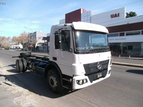 mercedes benz atego 1418 2012 chasis c/cabina