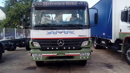 mercedes benz atego 1418/2012 chasis solo