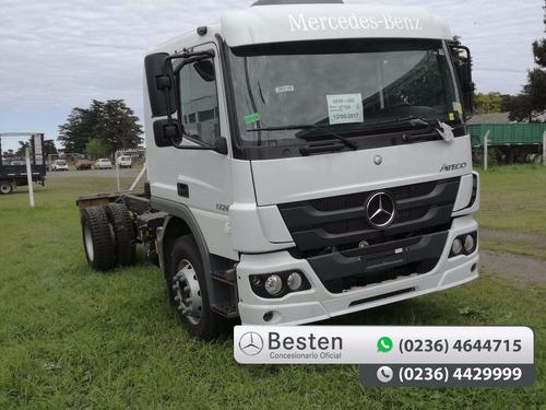 mercedes benz atego 1419/48 camiones 0km adjudicado