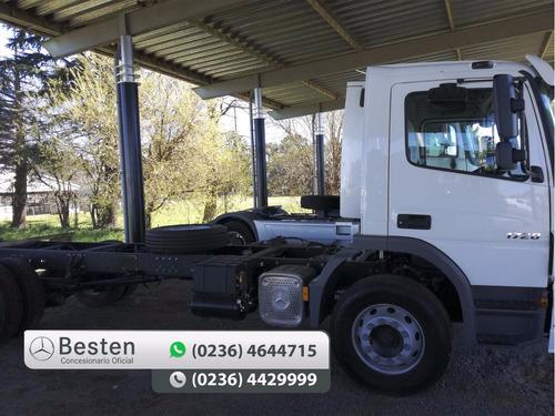 mercedes benz atego 1720/36 camiones nuevo 0km adjudicado.