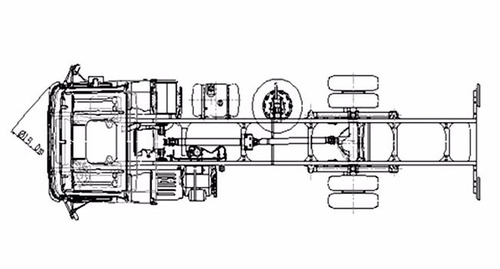 mercedes benz - atego 1725/48 4 x 2