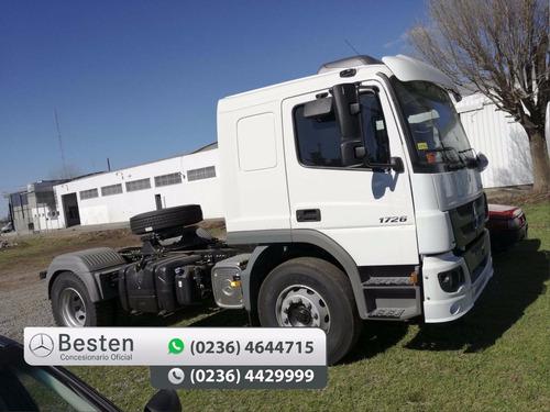 mercedes benz atego 1726 s/36 cn camiones cuotas y anticipo