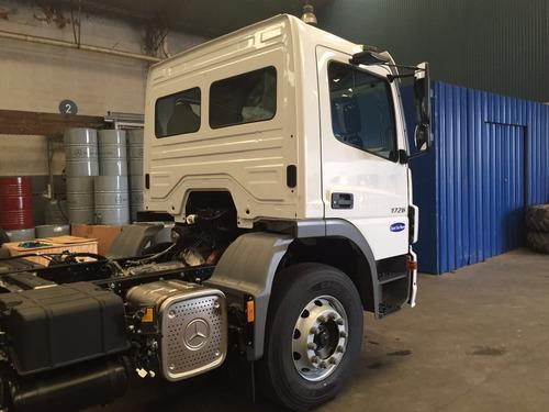 mercedes benz atego 1726/36 cs blanco diesel trompo 0km