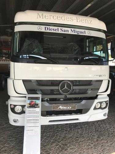 mercedes benz atego 1726/42 cd tb  diesel 0km blanco