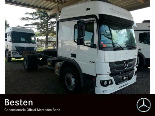 mercedes benz atego 1726/42 techo elevado 2018 0km camion