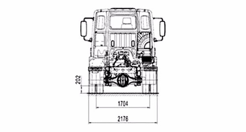 mercedes benz - atego 1728s/36 tractor 4 x 2 (dormitorio)