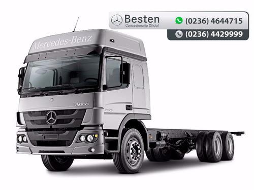 mercedes benz atego 2426/48 camiones 0km financiación