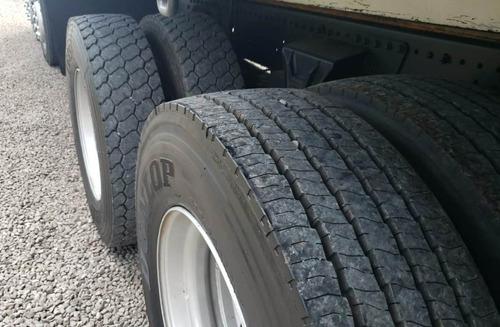 mercedes benz atego 2428 - carroceria 9.50m bitruck 8x2