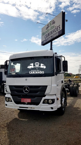 mercedes-benz atego 2430 no chassi