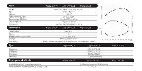 mercedes benz atego atego 2730 k/3 anticipo$ 59,210.94