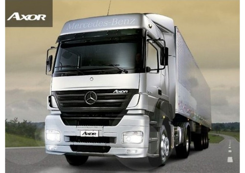 mercedes benz axor 2036 s/36 okm 2018 totalmente financiado!