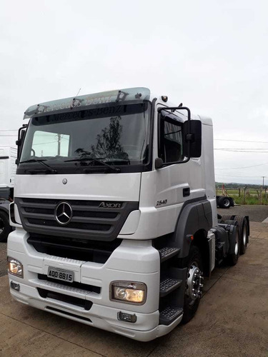 mercedes-benz axor 2540 2008, veiculo trocado o kit