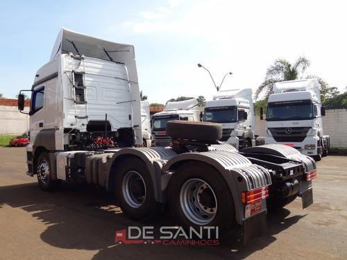 mercedes-benz axor 2544 2012/12 6x2 de santi caminhões