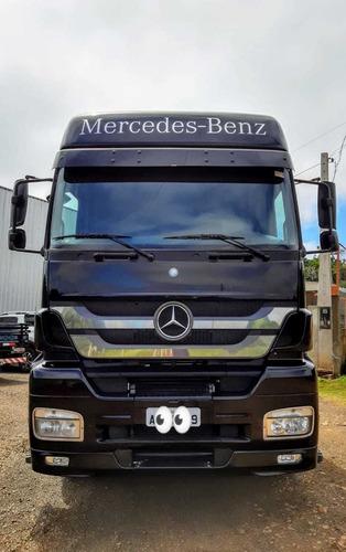mercedes-benz axor 2544 2013 6x2 impecável