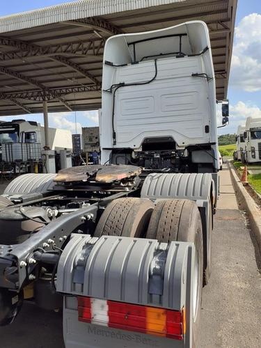 mercedes benz axor 2544 - 2018/2018 - baixa km frota jbs