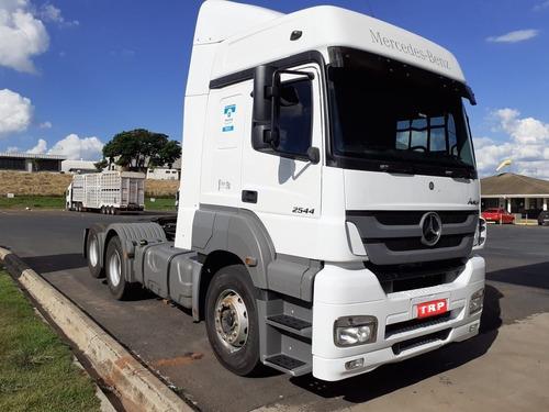 mercedes benz axor 2544 - 2018/2018 compre direto com a jbs
