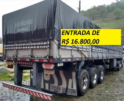 mercedes-benz axor 2544 ano 2012 com carreta graneleiro
