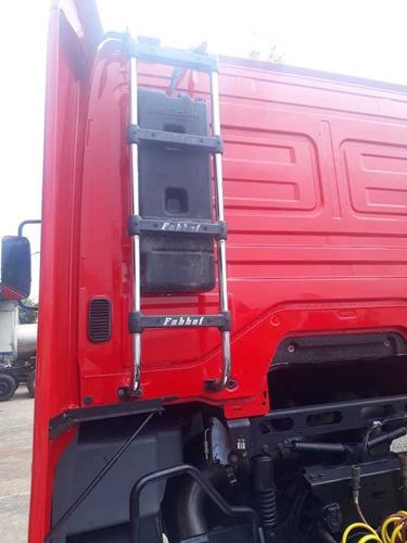 mercedes-benz axor 2644 tração 6x4   automático com ar cond