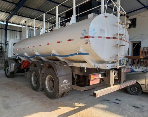 mercedes-benz axor 3131 6x4 ano 2014 tanque pipa 2 unidades