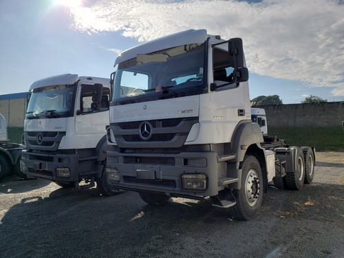 mercedes-benz axor 3344 6x4  ano 2014 / financiamos
