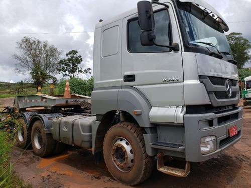 mercedes-benz axor 3344 6x4 cabine leito ( km 150.000 )