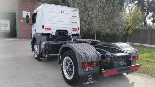 mercedes benz axor 4 unidades 2013 chasis 43