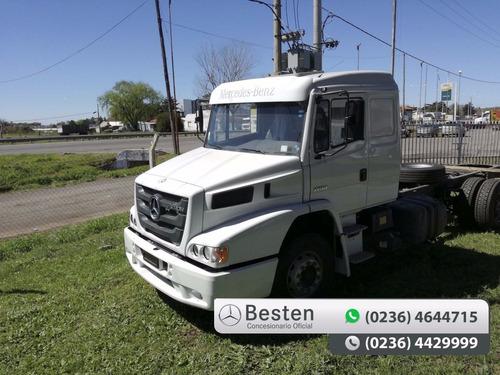 mercedes benz besten camión atron 1735/51 cuotas y anticipo